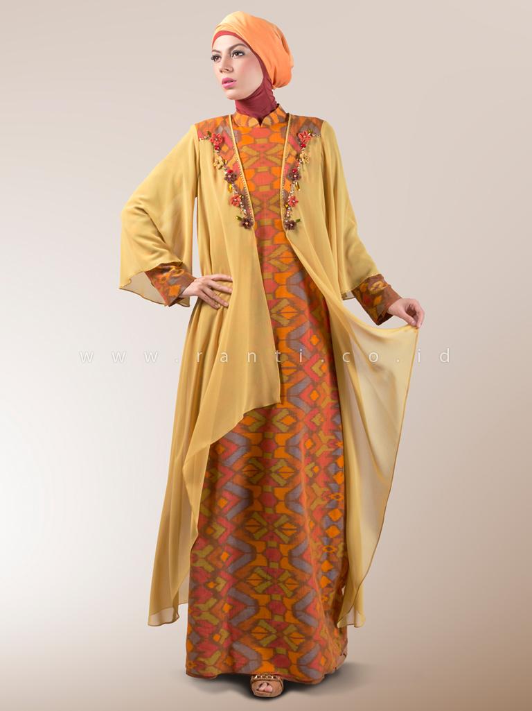 Contoh busana muslim terbaru di 2015 untuk wanita gemuk Fashion style untuk orang kurus