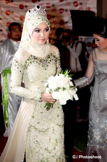 Contoh Model Baju Pengantin Muslim Syar I Modern Terkini Pipitfashion