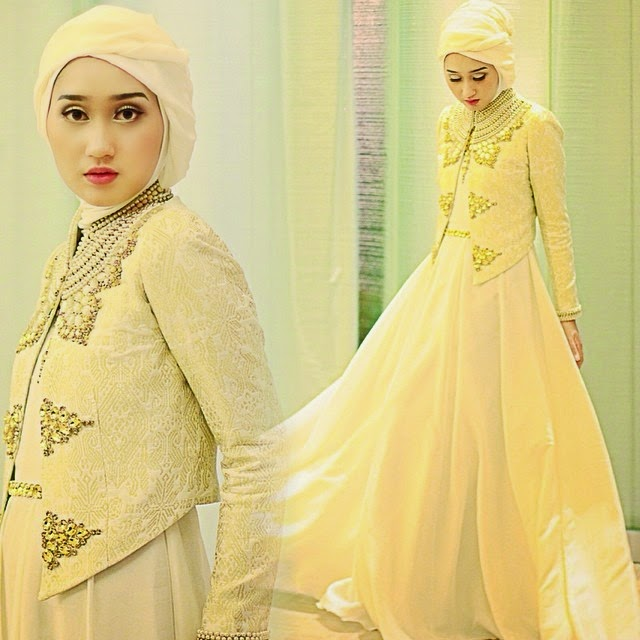 Contoh Busana Muslim Terbaru Di 2015 Untuk Wanita Gemuk Pipitfashion